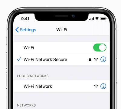 check your network