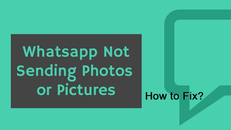 fix whatsapp not sending pictures