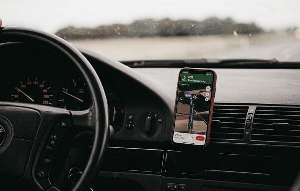 GPS nevigate through places