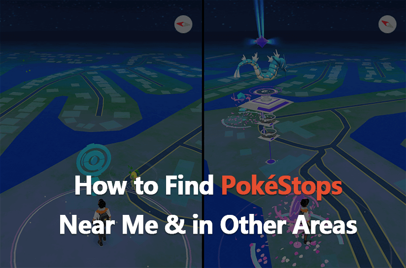 how to find pokestops