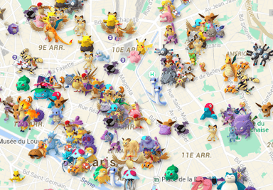 look at crowdsourced maps