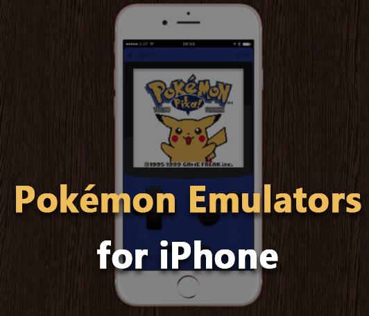 pokemon emulators for iphone