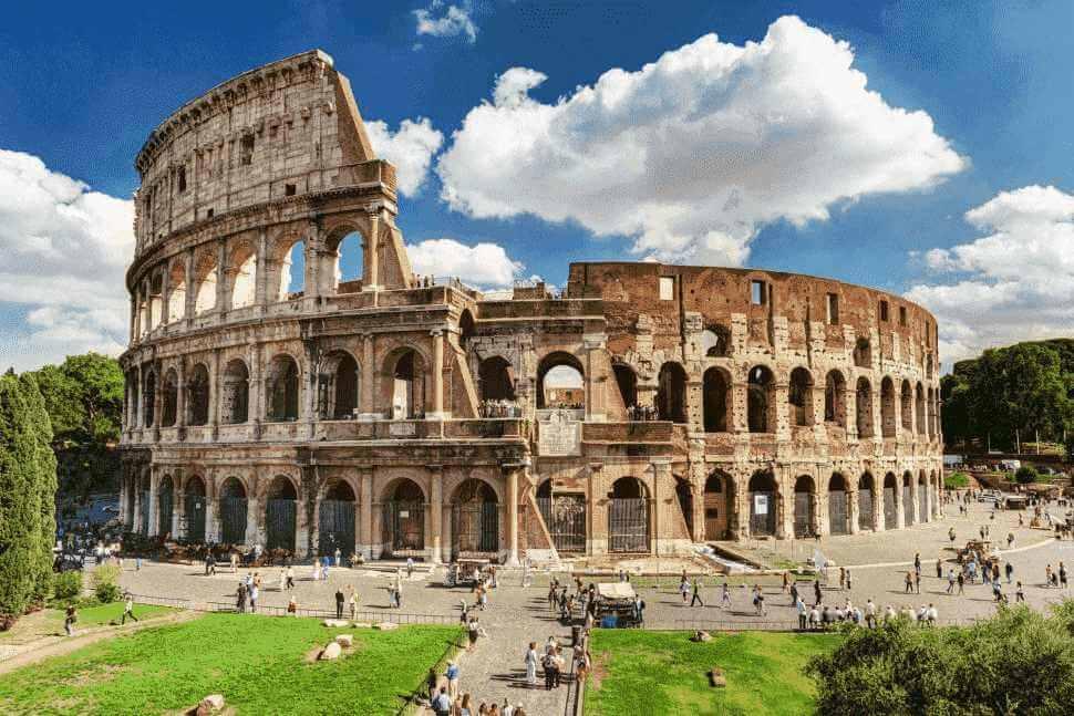 finde pokemon at Colosseum in Rome