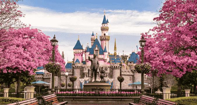 finde pokemon at Disneyland Anaheim