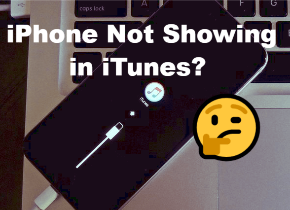 iPhone not showing in iTunes
