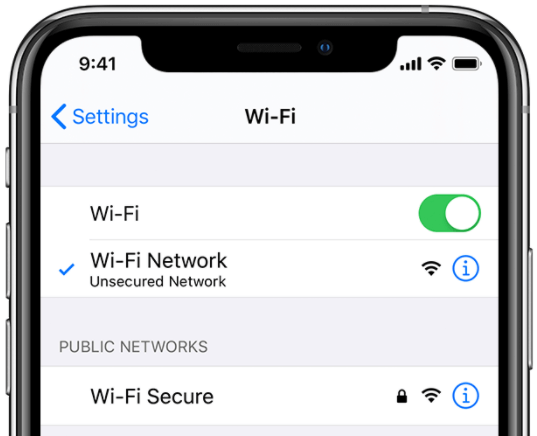 Turn off WiFi and then on