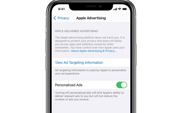 apple personalized ads