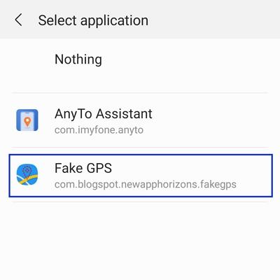 select mock application