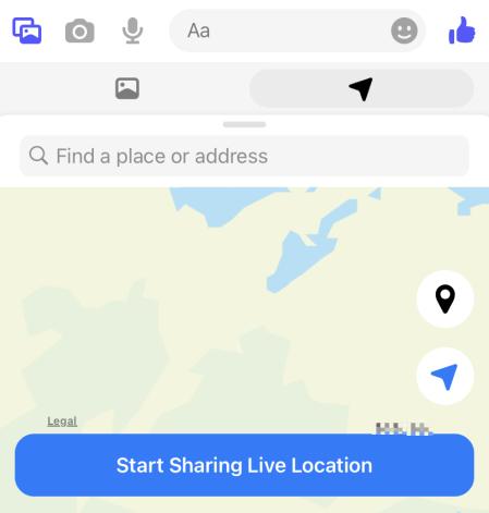 share live location
