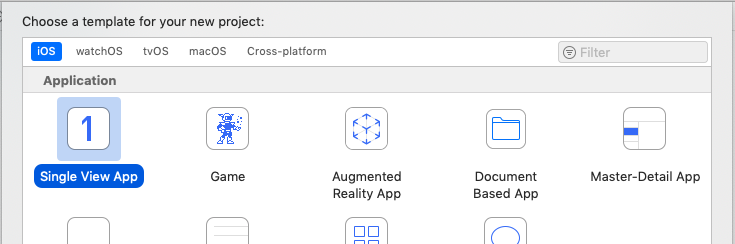 single view app