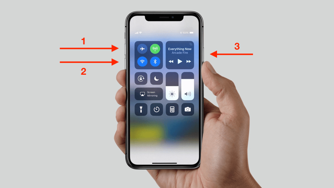 force restart iphone 8 or later