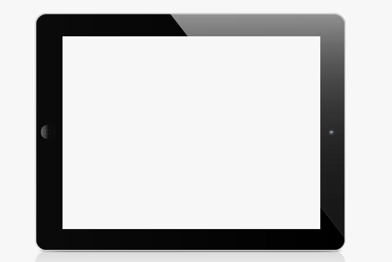iPad white screen