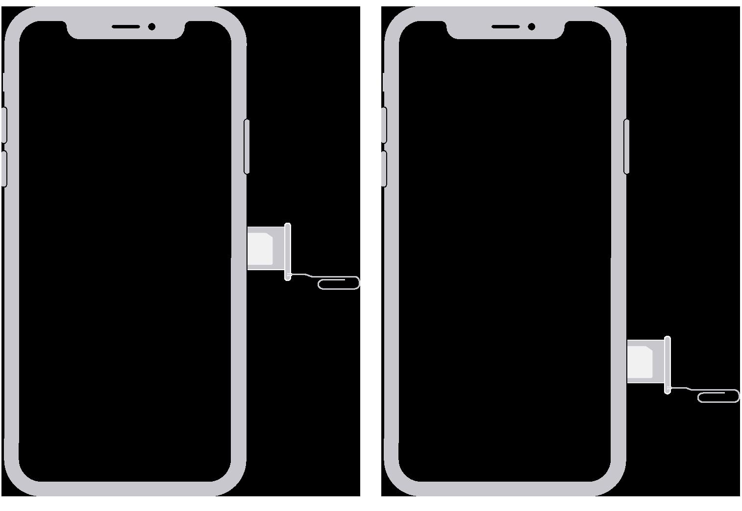 remove SIM crad on iPhone