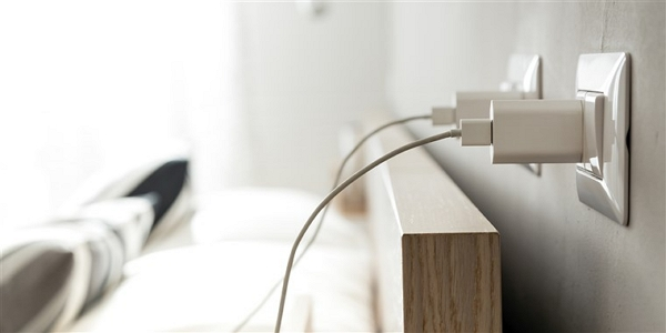 wall socket power source