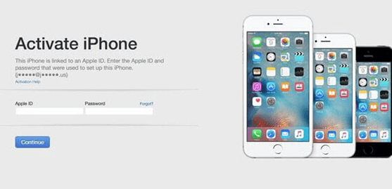 activate iPhone via iTunes