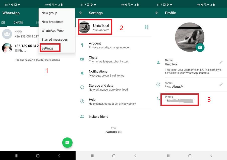 check whatsapp phone number