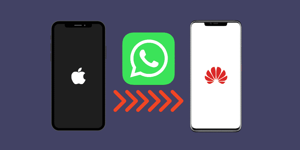 transfer whatsapp from iphone to huawei